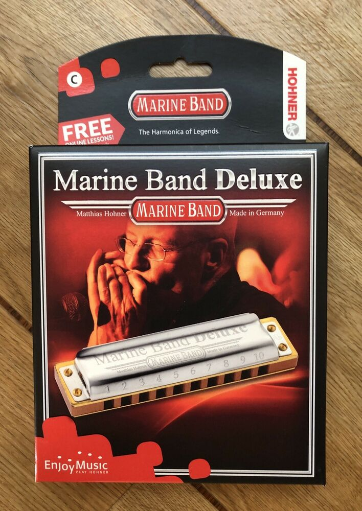 Hohner Marine Band Deluxe In The Key Of C