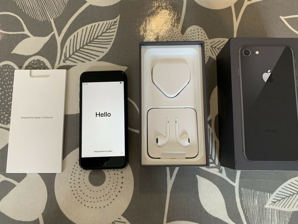 Apple iPhone 8 - 64GB - Space Grey (EE) A (GSM)