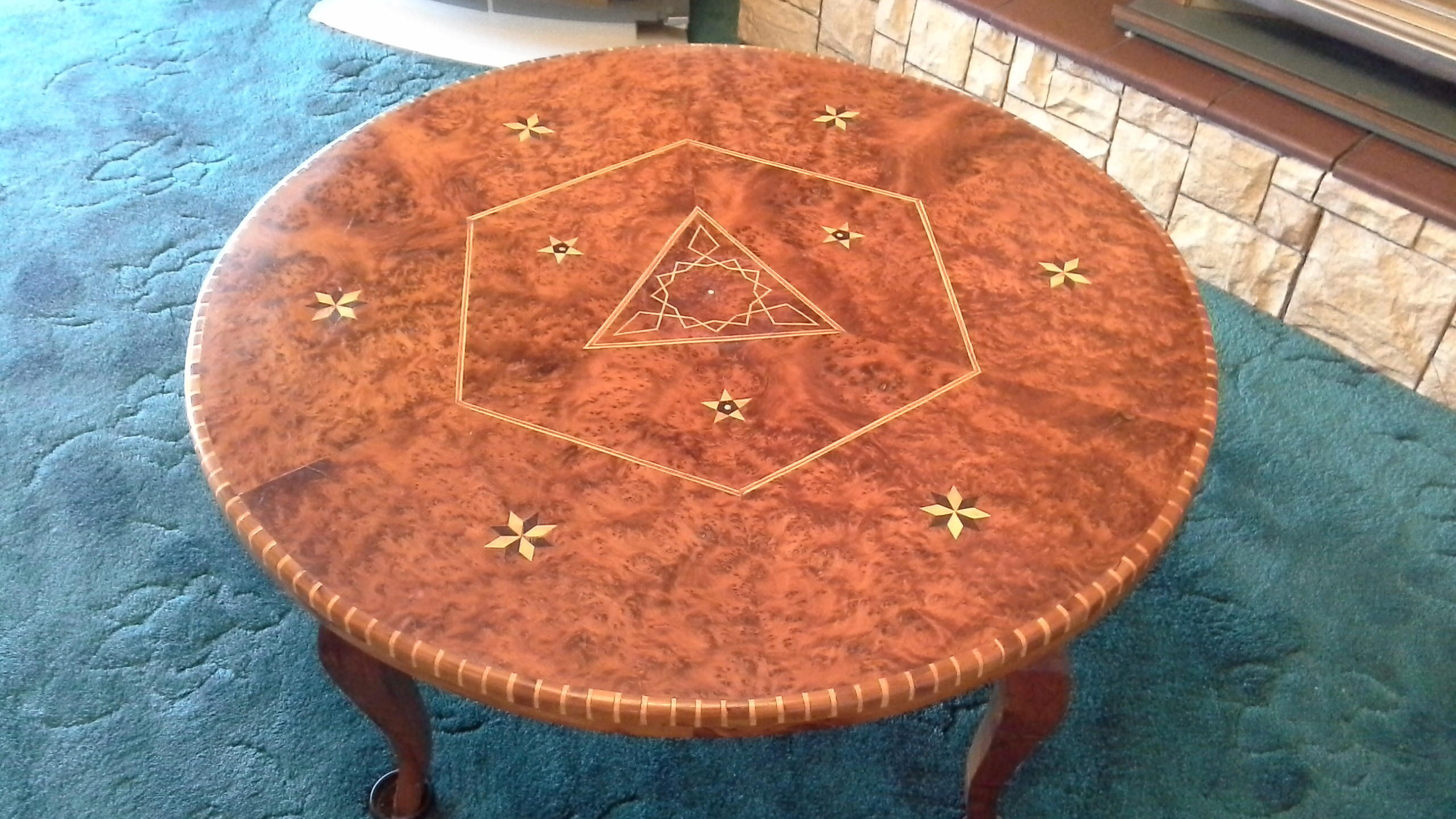Circular Hand Made North African Coffee table