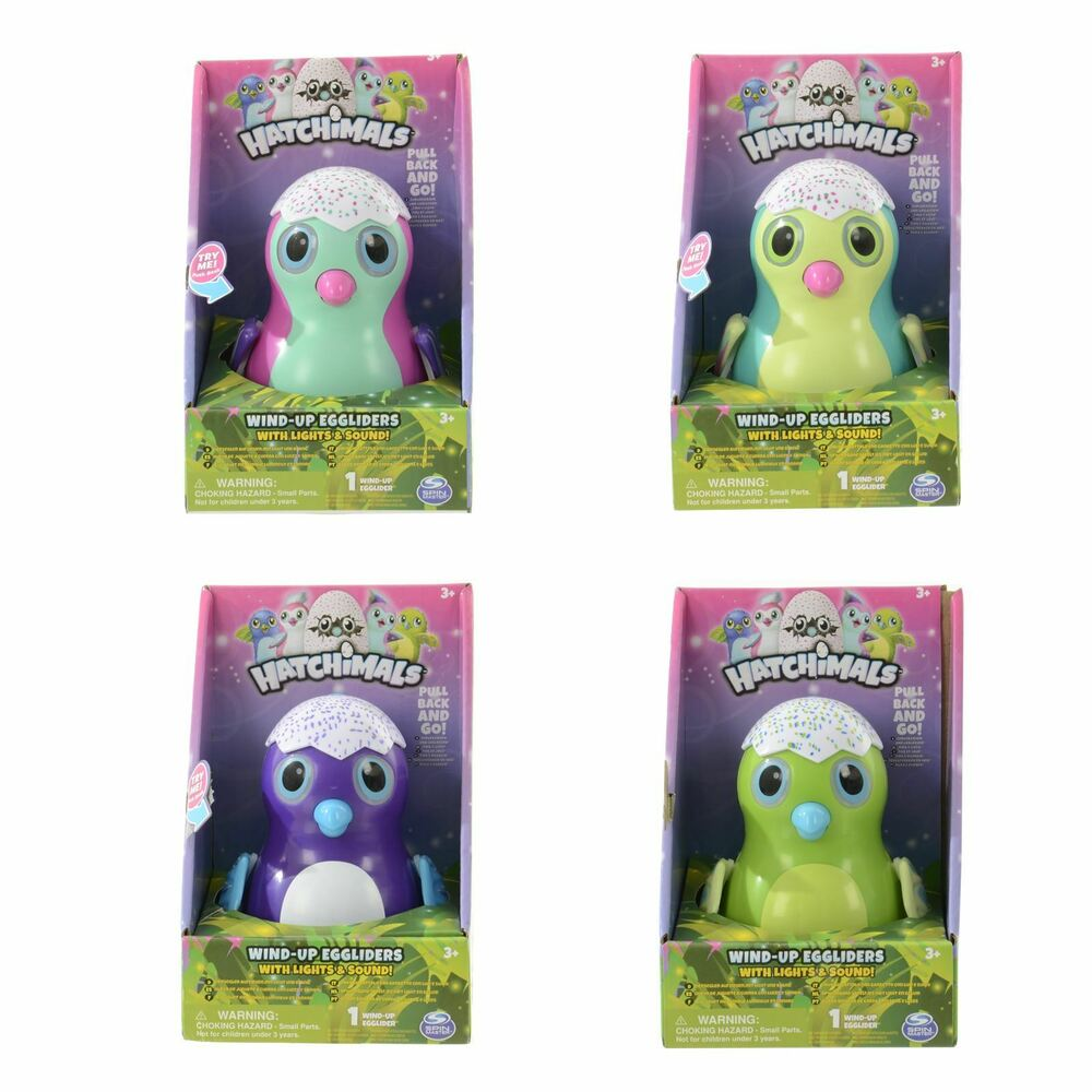 Hatchimals Wind-Up Egglider With Lights & Sound Collectable