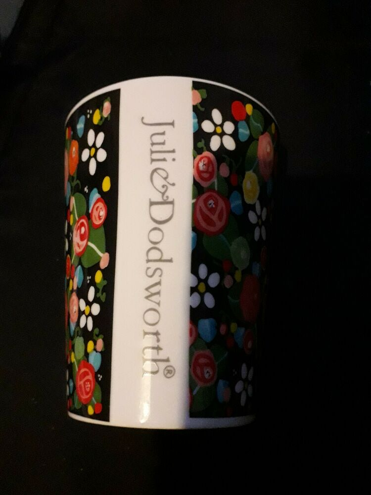 "Julie Dodsworth Ceramic Beaker ""Grow Your Own"" Nasturtium."