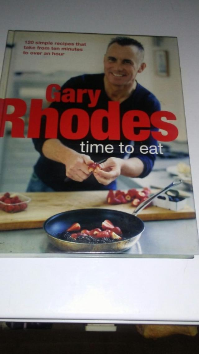 Gary Rhodes time to eat cook book excellent condition