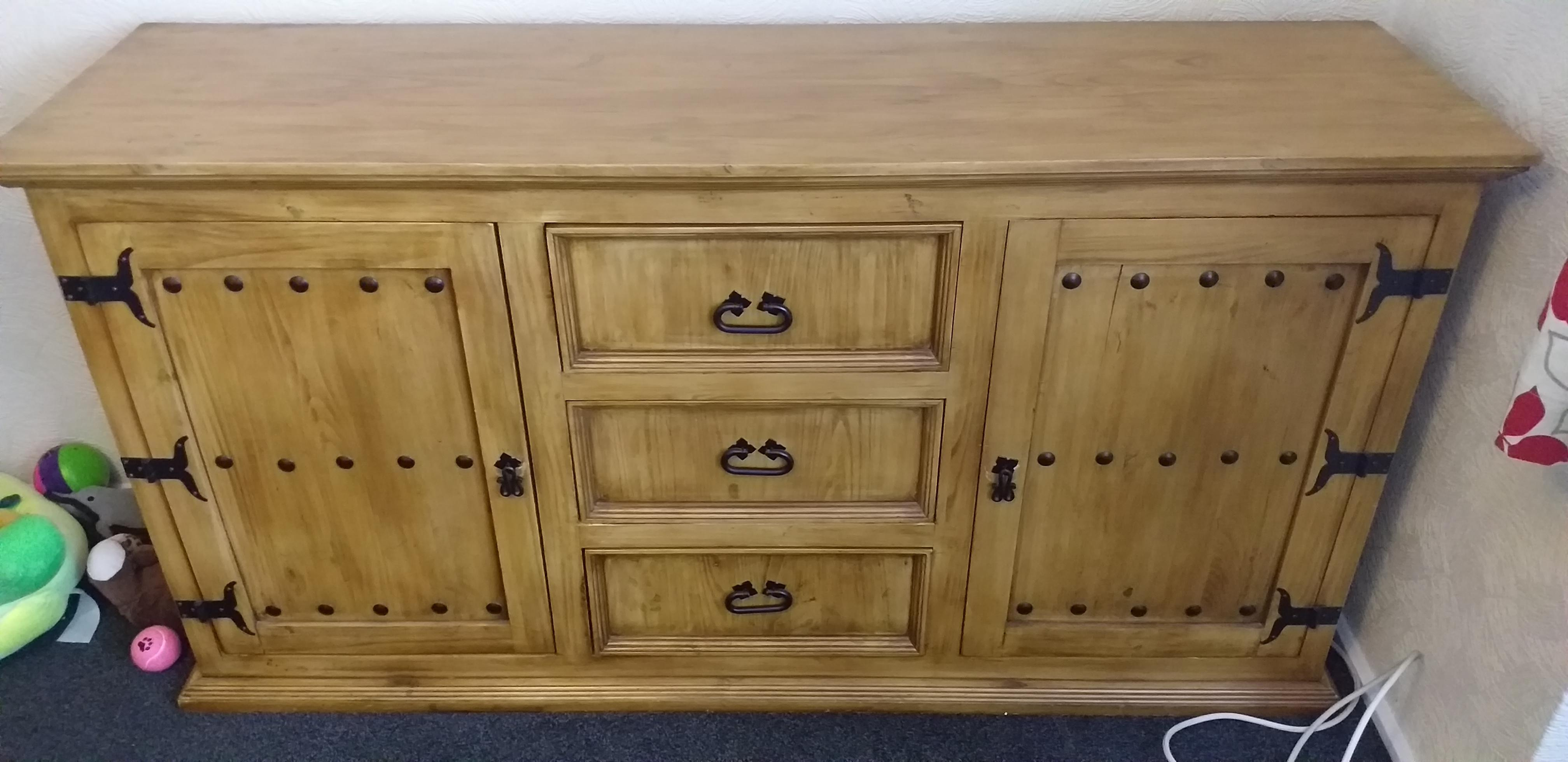 Sideboard.solid oak.5ft.