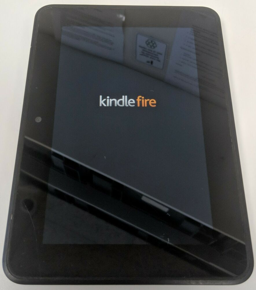Amazon Kindle Fire 7 8GB WiFi 2nd Generation Tablet - Black