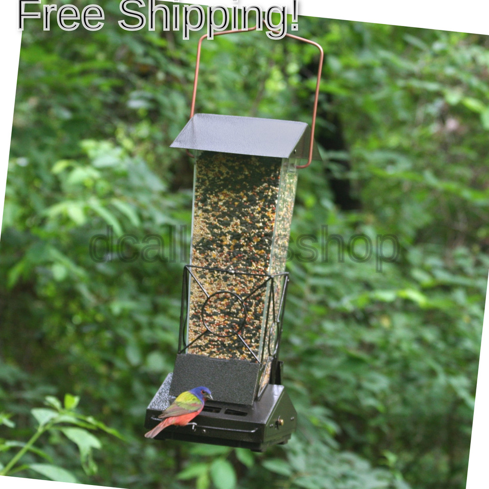 Perky-Pet Fortress Squirrel Proof Bird Feeder, Holds 2.7 kg