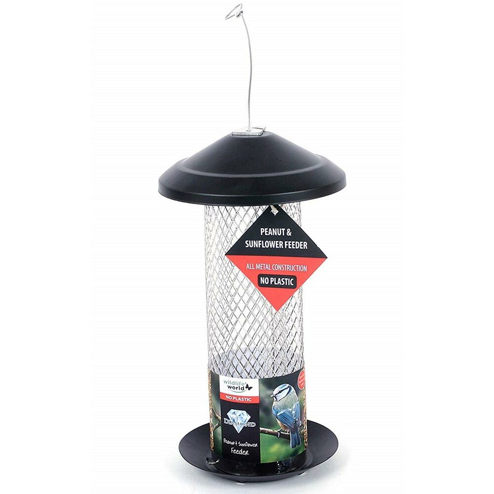Wildlife World Peanut & Sunflower Bird Feeder Hanging