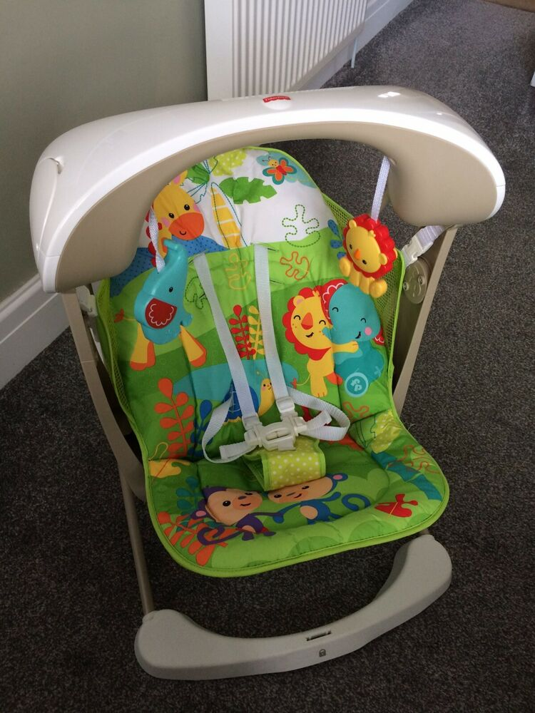 Fisher-Price Rainforest Take Along Swing and Seat Set,