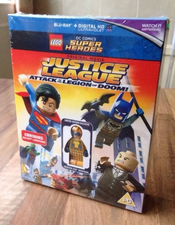 LEGO DC SUPER HEROES JUSTICE LEAGUE ATTACK OF THE LEGION OF