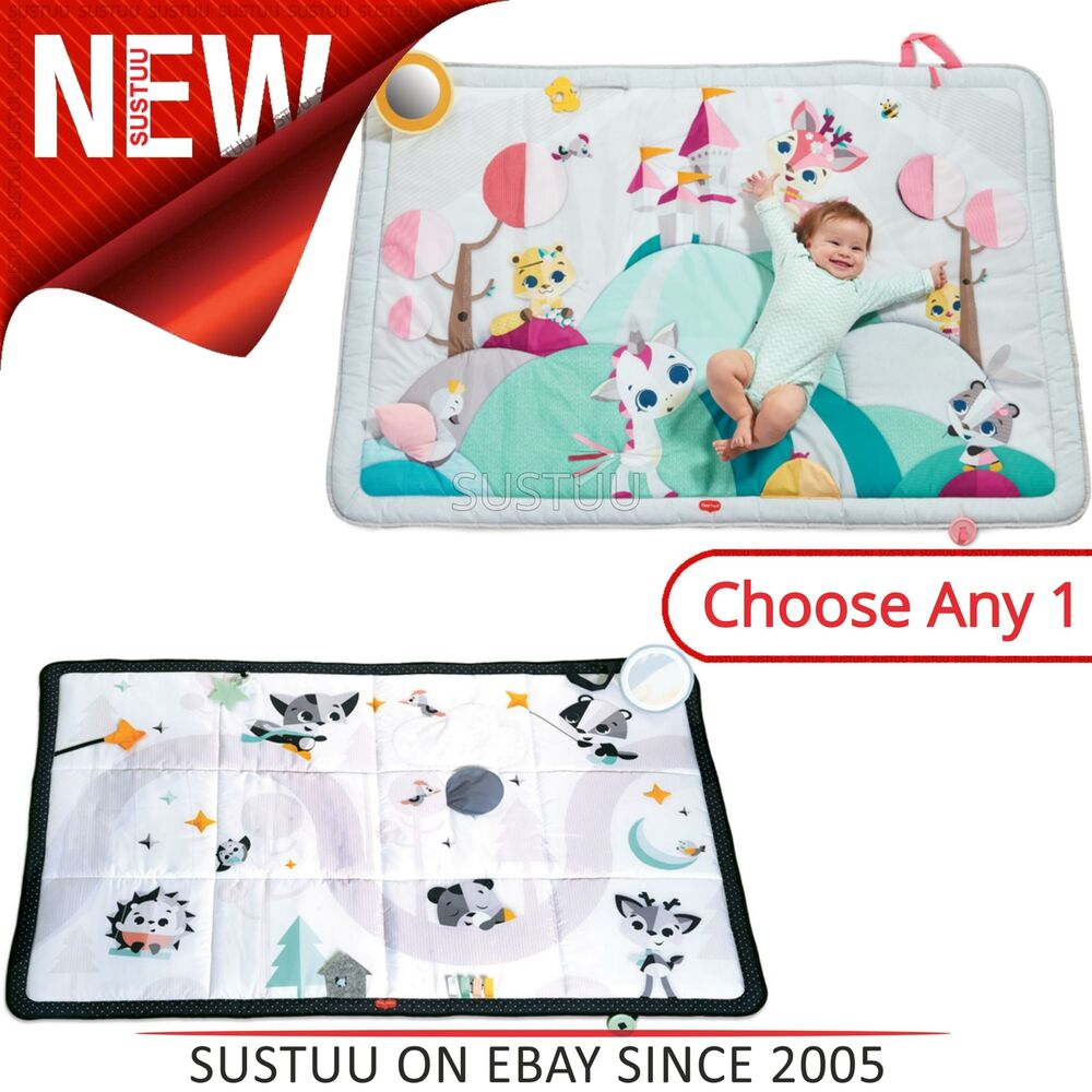 Tiny Love Super Mat Magical Tales│Baby's Tummy Time Mat/