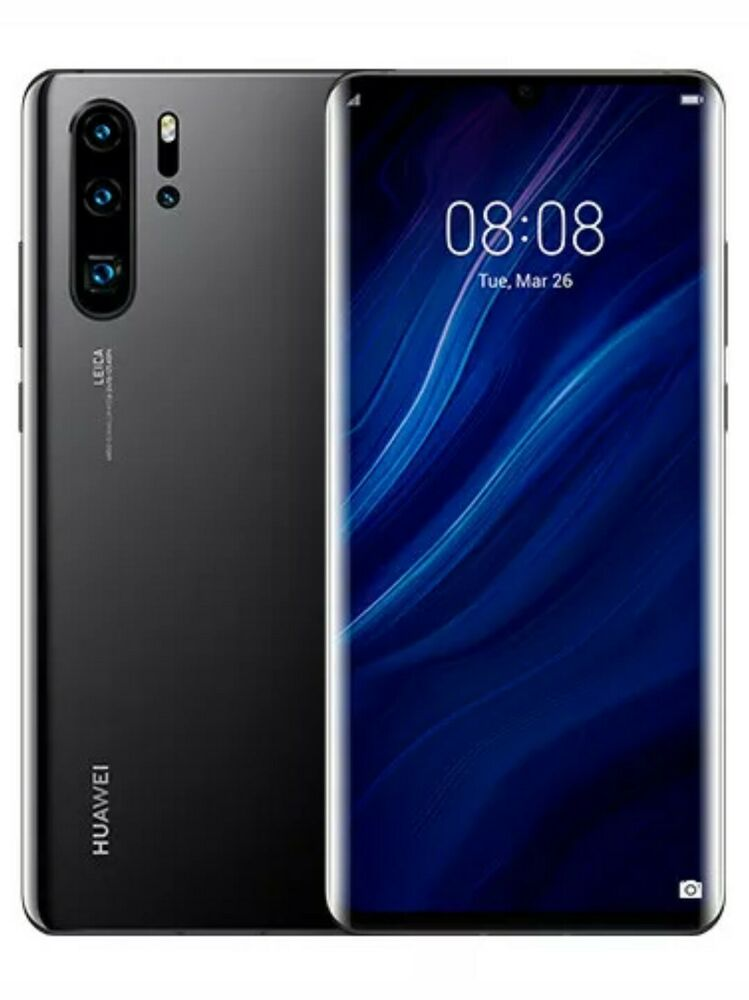 Huawei p30 pro 128gb unlocked sealed black!