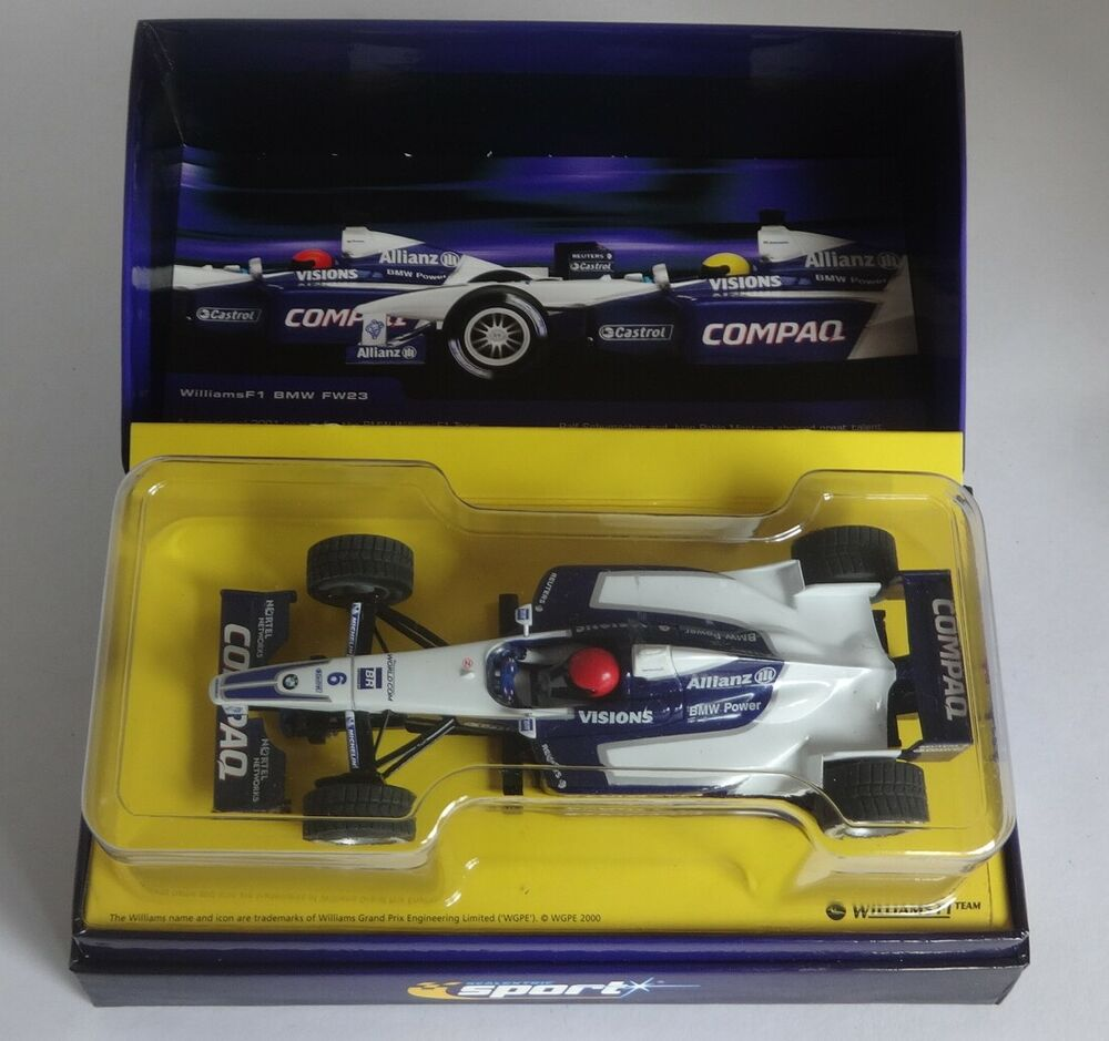 SCALEXTRIC C SPORT WILLIAMS F1 BMW FW23 #6 LTD EDITION