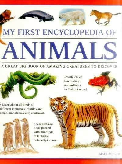My First Encylopedia of Animals: A Great Big Book of Amazing