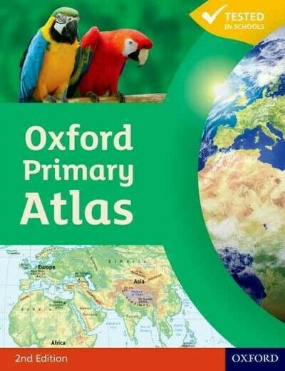 Oxford Primary Atlas, Hardcover by Watts, Franklin, ISBN