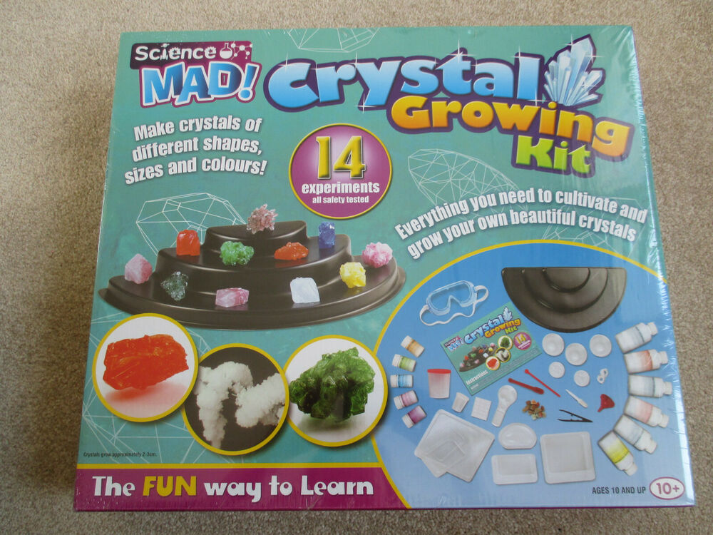 Crystal growing kit science mad  (New other)