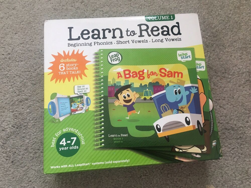 LeapFrog LeapReader Reading and Writing System With 4