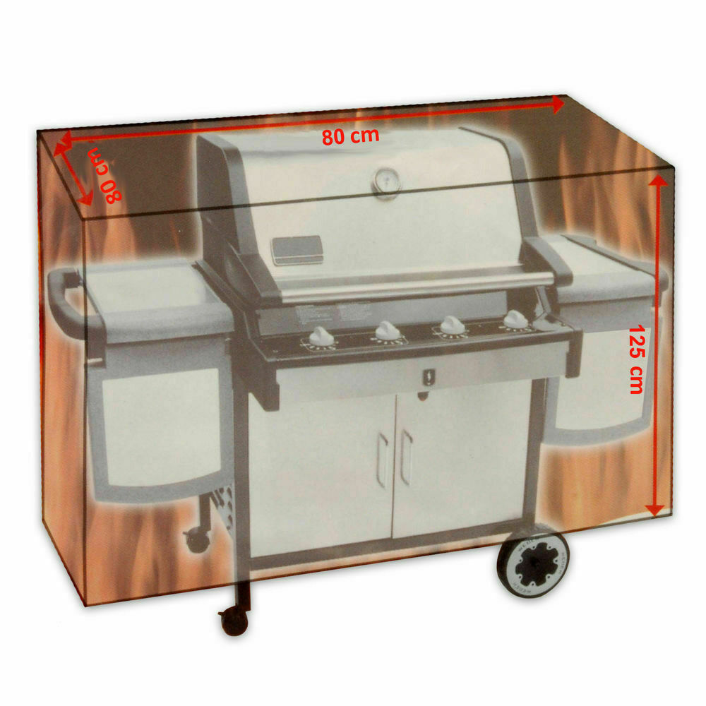 Barbecue Cover Grill Outdoor BBQ Covers 80 x 80 x 125 cm