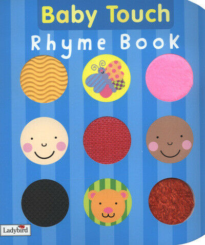Baby Touch: Baby touch rhyme book by Fiona Land (Board book)