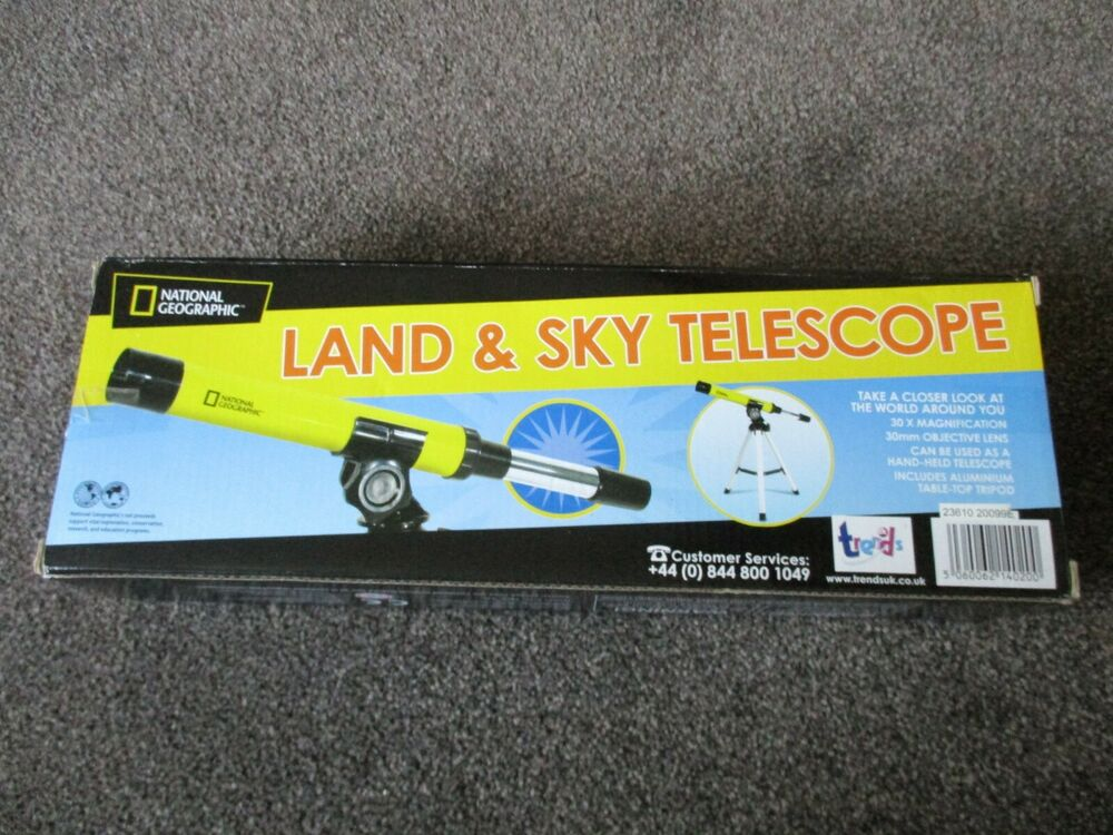 National Geographic Land and Sky telescope brand new.