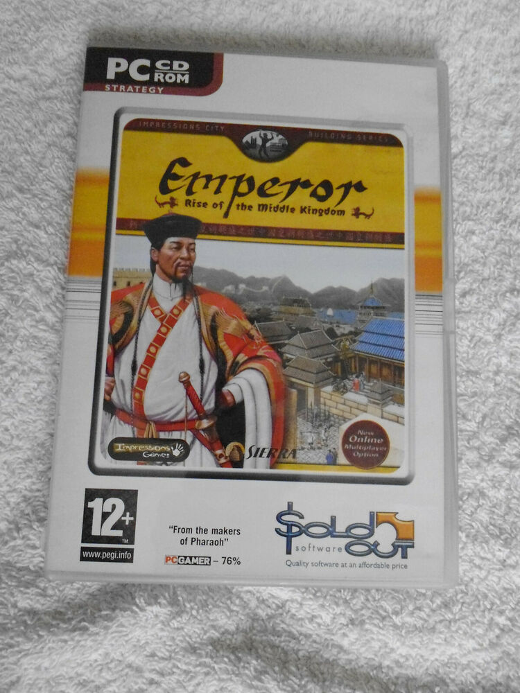 Emperor: Rise of the Middle Kingdom PC: Windows In Very Good