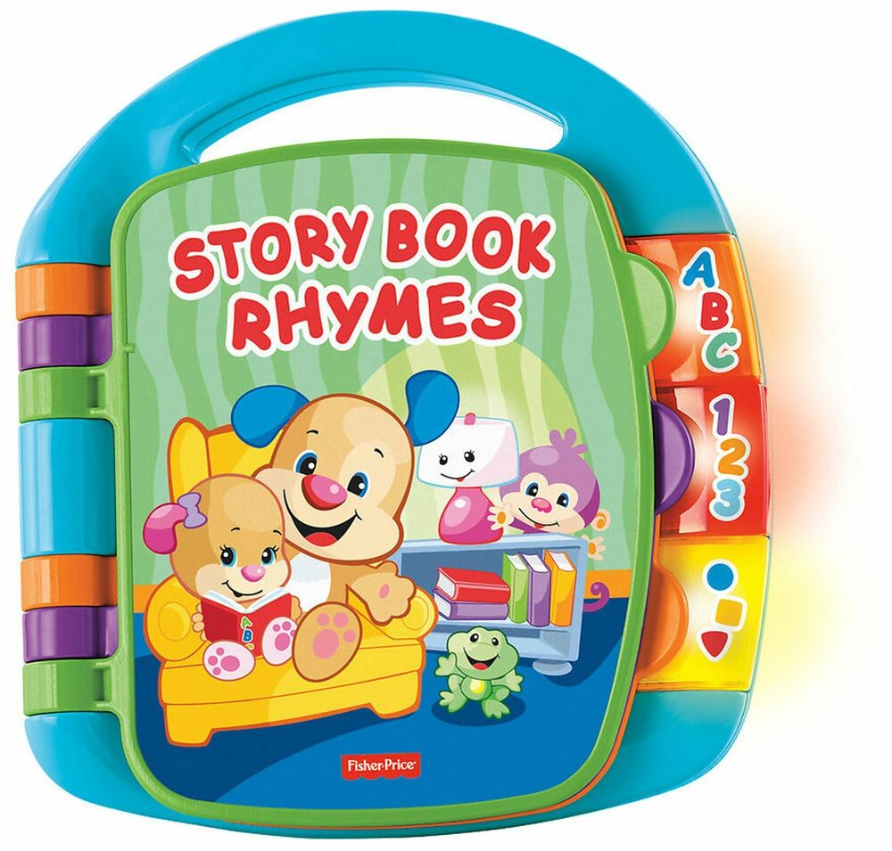 Fisher Price FISHER-PRICE LAUGH & LEARN STORY BOOK RHYMES