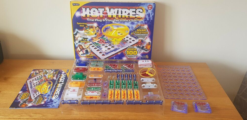 John Adams Hot Wires Educational Toy 100% complete with