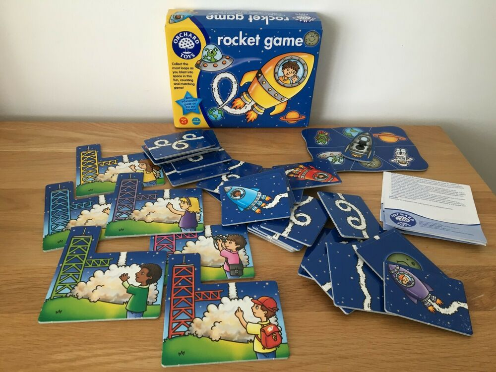 Orchard Toys - ROCKET GAME - Educational Counting Fun - Age