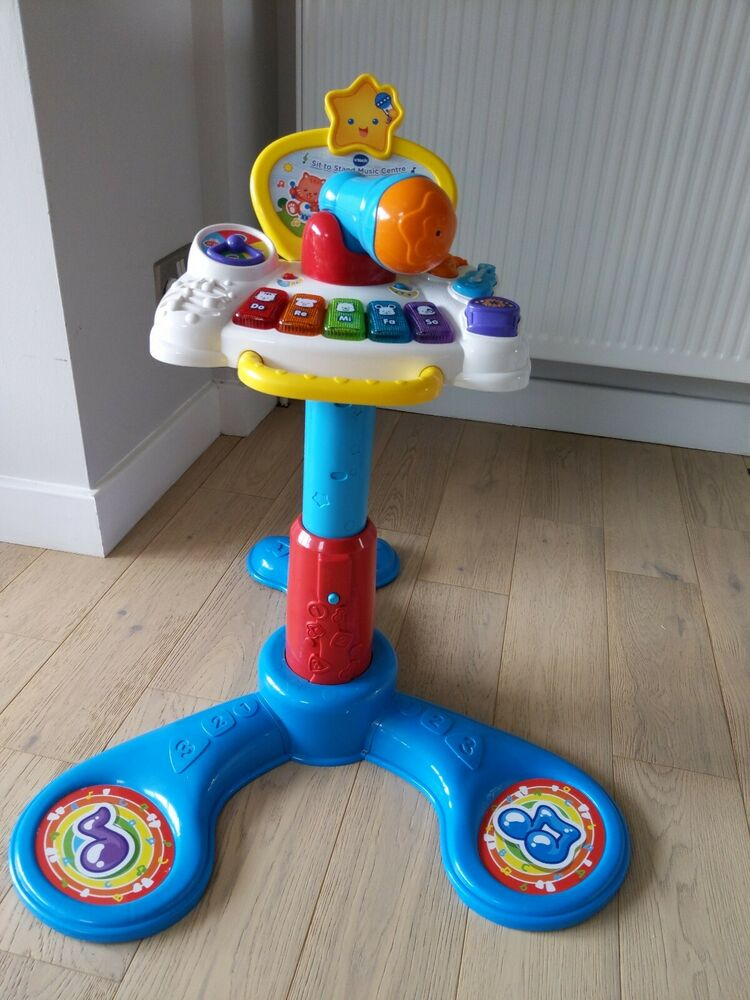 Vtech Baby Sit To Stand Music Centre Instrument Sounds Voice