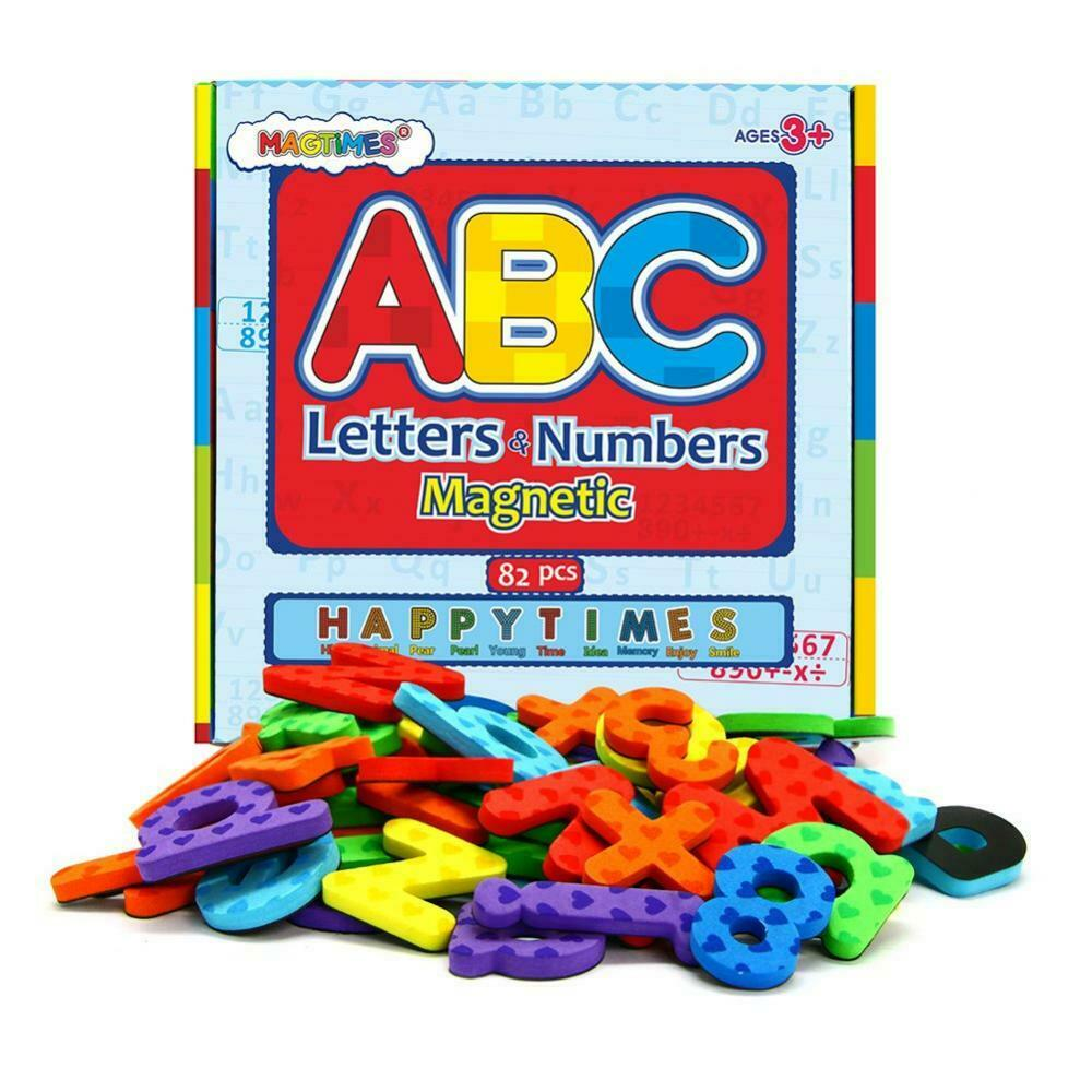 Magnetic Letters and Numbers, ABC Alphabet Magnets for Kids