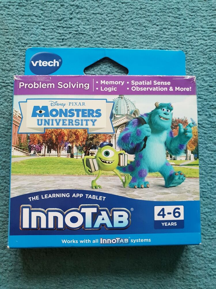 VTech InnoTab monsters university game