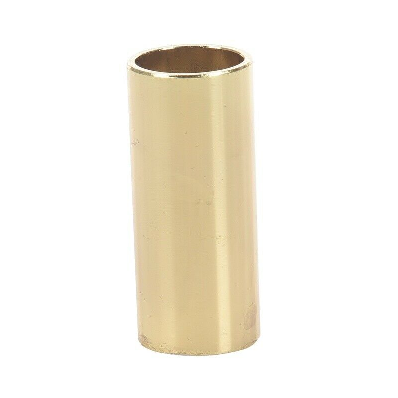 2X(Metal Electric Guitar Slide Bar Finger Cover, Gold T3H3)