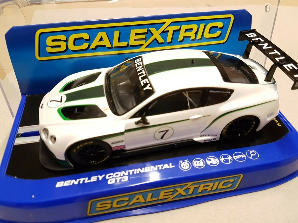 Boxed Scalextric Bentley Continental GT3, C, DPR,