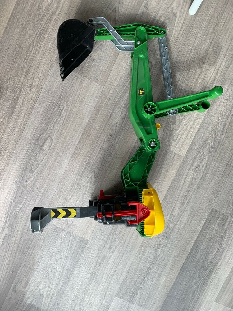 Rolly Toys John Deere Childrens Push Tractor Kids Ride On