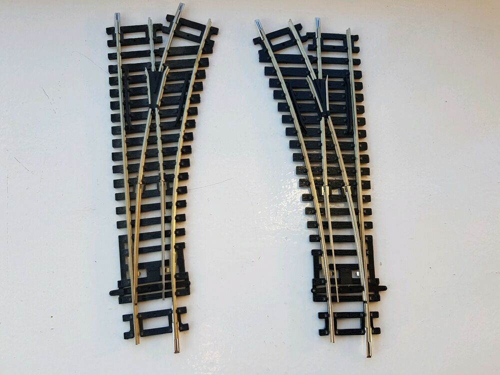 Hornby Nickel Silver R + R L/H & R/H Points New