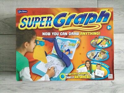 John Adams Super Graph Complete Portable Draw Anything Kids