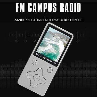 LCD Screen Display Music Media Player MP3with FM Radio white