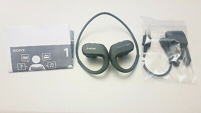 SONY NW-WS413B 4 GB Waterproof All in One MP3 Player - Black