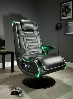 X Rocker New Evo Pro Gaming Chair LED Edge Lighting - See My