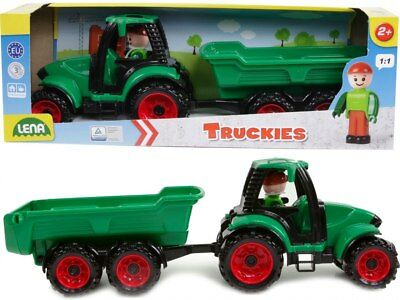 Lena  - Truckies Tractor with Trailer 38 cm Long