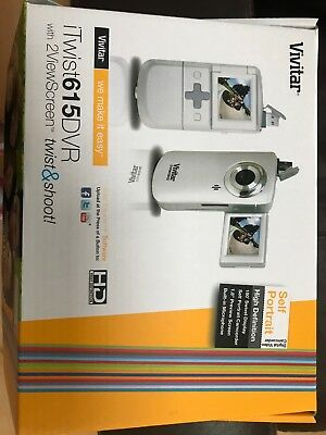 Vivitar iTwist 615 DVR with 2ViewScreen High Definition