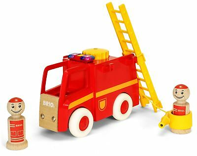 Brio MY HOME TOWN FIRE TRUCK Wooden Toy Vehicle BN