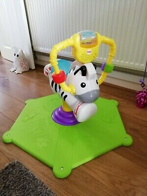 Fisher- Price Bounce & Spin Zebra