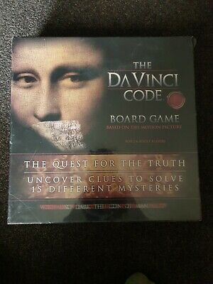 The Da Vinci Code Board Game Mystery Clue Solving Family