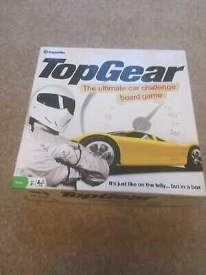 Top Gear Board Game Car Challenge Family Fun Play By