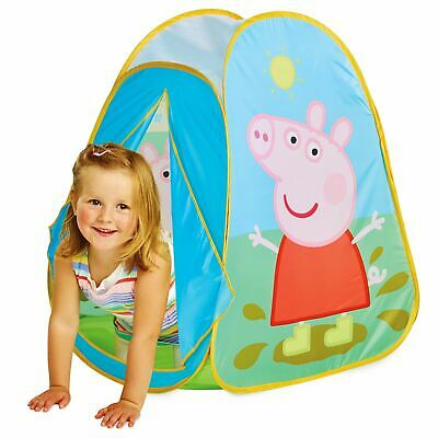 OFFICIAL PEPPA PIG POP UP PLAY TENT CHILDRENS AGES 2+