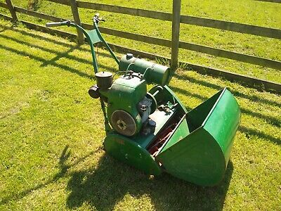 "Ransomes Matador Mk1 lawnmower 24"" cut vintage + JAP engine"