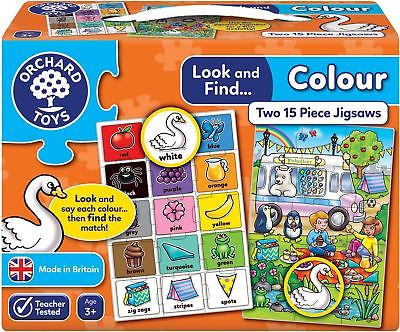 Orchard Toys LOOK AND FIND COLOUR Educational Game Puzzle BN