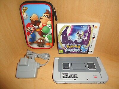 New Style Nintendo SNES Edition 3DS XL Console With Pokemon
