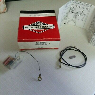 NOS OEM BRIGGS & STRATTON ELECTRONIC IGNITION KIT