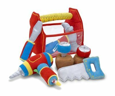 DAMAGED BOX - Melissa & Doug Toolbox Fill & Spill Soft Plush