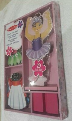 Melissa & Doug Nina Ballerina Ballet Magnetic Dress-Up